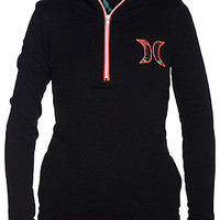 Twin Falls Hoodie Womens Fleece - Hurley