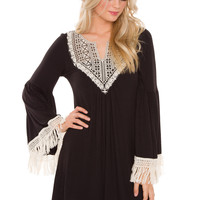 Got Hooked Lace Dress
