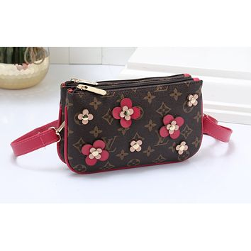 LV Hot Selling Women's Printed One-Shoulder Wallet