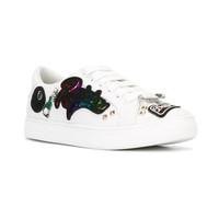 Marc Jacobs Multi Patch Sneakers - Farfetch