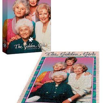 NEW The Golden Girls TV Show 1000 Piece Premium Portrait 19 X 27 Jigsaw Puzzle