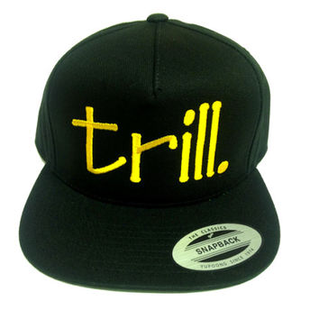trill snapback one size fits all dope fashion hip hop rihanna beyonce