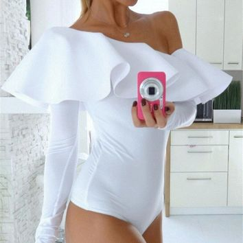 Womens Pretty Off Shoulder Casual Romper