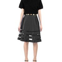 Cynthia Rowley - Mesh Combo Skirt | Bottoms by Cynthia Rowley