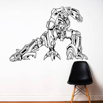 Transformers Wall Decal,Prime Wall Sticker,Bumblebee wall decal,Kids Wall sticker,Bedroom Wall Sticker,Nursery wall decal kau 273