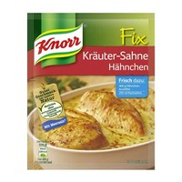 Knorr Fix for Chicken in Creamy Herb Sauce, Krauter Sahne from Germany, 1 oz