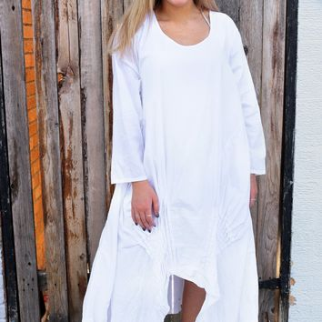 Lexi Dress - White by Tulip Clothing