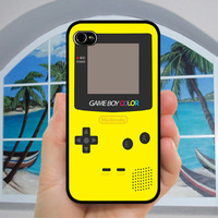 Gameboy color different styles 4 color  - iphone Case , iphone 5 Case ,iphone 4s case ,iphone 4 case , iphone cover,gameboy iphone case