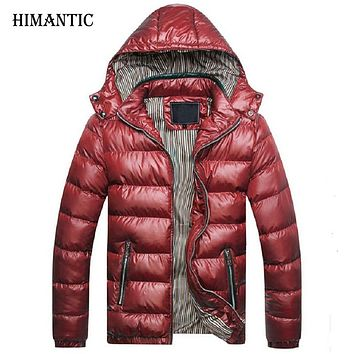 Winter Jacket Men Warm Coat Sportswear Outwear winter hombre men coats and jackets