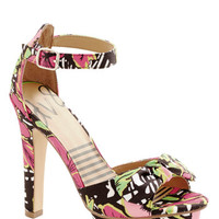 Dolce Vita Statement Attention Everyone! Heel in Tropical