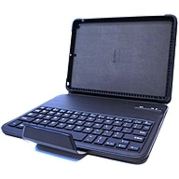 NOB Griffin GB39723 TurnFolio Keyboard/Cover Case (Folio) for iPad Air - Black - Drop Proof, Shock Absorbing