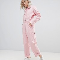 ASOS Twill Boilersuit at asos.com