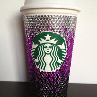 Custom Starbucks Coffee Cup by KniftyKnitter10 on Etsy
