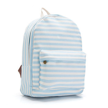 Canvas Lovely Cute Korean Butterfly Backpack = 4887931652