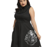 Harry Potter Hogwarts Collar Dress Plus Size