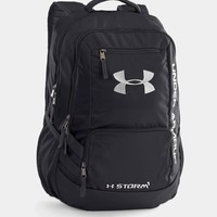 Under Armour Storm Hustle II Backpack in Black 1263964-001