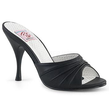Pin Up Couture Monroe Black Slip On