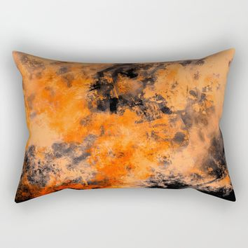 Digital art 4 Rectangular Pillow by Lionmixart