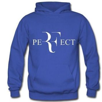 New winter spring sweater Tennis Roger Federer PERFECT male and female models SWEATERSHIRT 6 colour pullover jacket