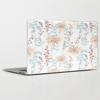Floral Pattern 09 Laptop & iPad Skin by Aloke Design