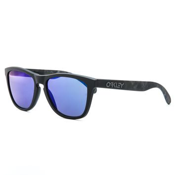 Oakley Soft to Touch Collection Sunglasses OO9013 24-398 Skulls / Blue Iridium