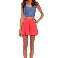 Fit and Flare Shorts ~ TOBI