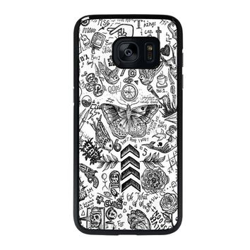 ONE DIRECTION TATTOOS Samsung Galaxy S7 Edge Case