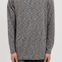 D17 Stealth Turtle Neck Tee - Charcoal