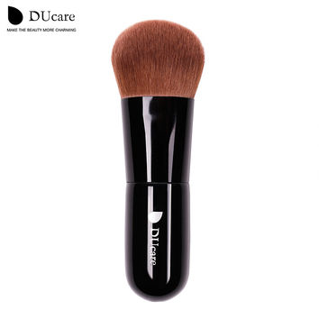 Ducare 1PCS powder brush professional makeup brush high quality make up brushes  top brown Synthetic Hair