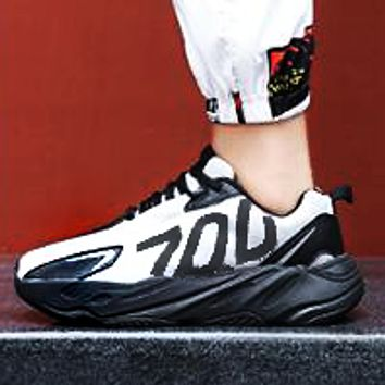 Adidas 700 New Fashion Men Casual Sport Running Shoes Sneakers White