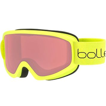 Bolle - Freeze Matte Lime Snow Goggles / Vermillon Lenses