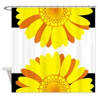 Sunny Sunflowers Shower Curtain> Flower pattern Shower Curtains> Shower Curtains