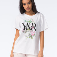 YOUNG & RECKLESS Womens Floral Tee | Graphic Tees