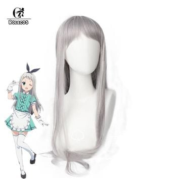 ROLECOS Japanese Anime Blend S Cosplay Kanzaki Hideri Hair Accessories Stile Cafe Sadistic Women Cosplay Synthetic Hair