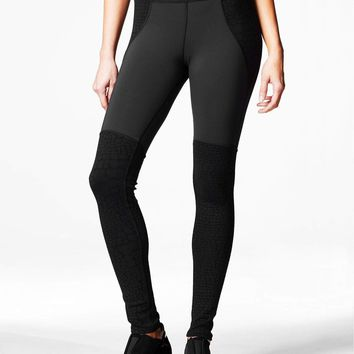 Michi Shadow Legging - Black Croc