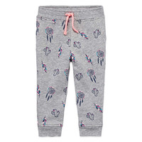 Arizona Azg Print Jogger Pull-On Pants Girls - JCPenney