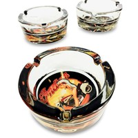 Glass Designed Ashtray
