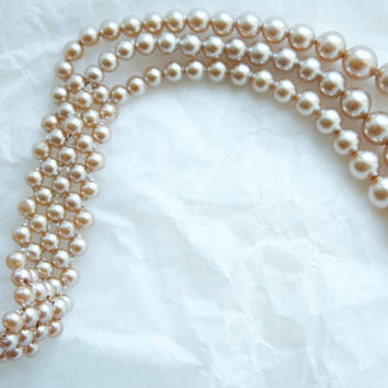 Vintage 1940s Marie Antoinette Style Faux Pearls, Made in Occupied Japan