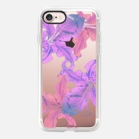 pink lilies iPhone 7 Carcasa by Marianna | Casetify