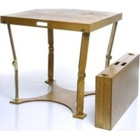 Spiderlegs CD3030-GO Hand Crafted & Custom Finished Dining Folding Table in Golden Oak