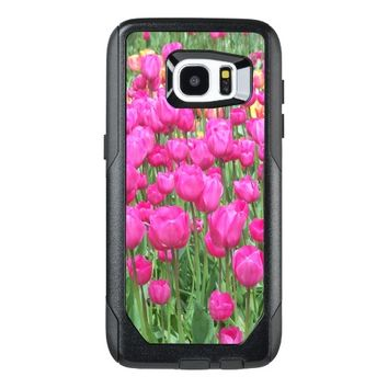 Pink Tulips Floral OtterBox Samsung Galaxy S7 Edge Case