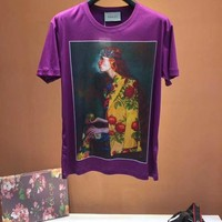 NEW 100% Authentic gucci 2018ss print t shirt  ※034
