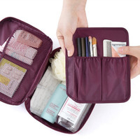 2017 Make up organizer bag Women Men Casual travel multi functional Cosmetic Bag storage waterproof bag