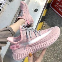 ADIDAS YEEZY 350 2019 new women's wild breathable mesh sneakers