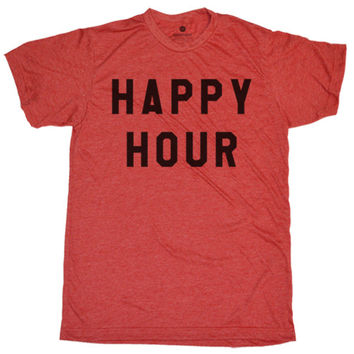 Happy Hour - Heather Red