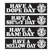 Element Skateboards Element OG Have A Day Sticker Pack