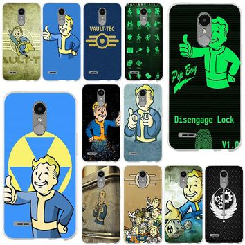 Fallout Vegas Pip Phonecases Vault Boy Soft Silicon Phone Cases for LG Spirit G2 G3 Mini G4 G5 G6 K4 K7 K8 K10 V10 V20 V30 Shell