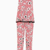 Buy Red Floral Cami Pyjama Set from the Next UK online shop
