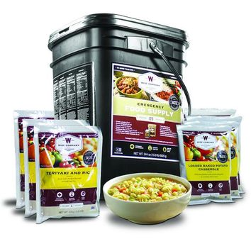 Emergency Freeze Dried Entrees - 120 Servings