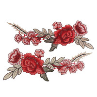 Rose Collar Sew Patch